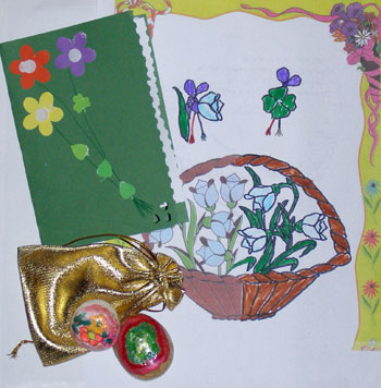 şi am doilea cadou de 8 martie: un desen, 2 pietre pictate manual