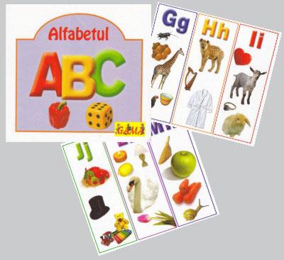 Alfabetul A, B, C - Editura Gama