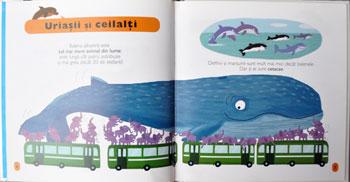 Delfini si balene, minieciclopedie Larousse, Editura Rao