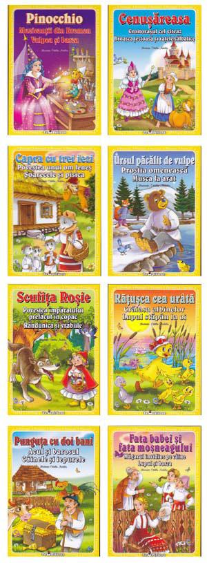 Colectia 3 povesti, Editura Teo Piticot