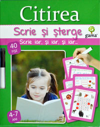 Colectia Scrie si sterge, Editura Gama