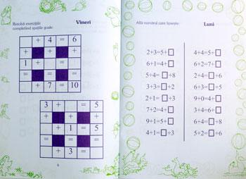 Exersez Adunarea si Scaderea de la 0 la 10, Editura Gama