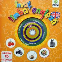 Invat limba engleza, Editura Gama, CD cu jocuri