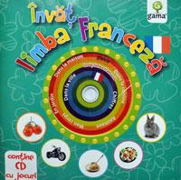 Invat limba franceza, Editura Gama, CD cu jocuri