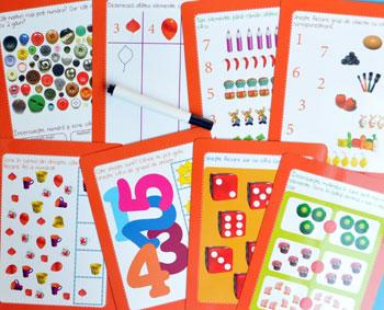 Jocuri cu cifre. Scrie si sterge. Editura Gama