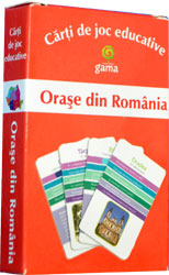 Orase din Romania (carti de joc educative), Editura Gama