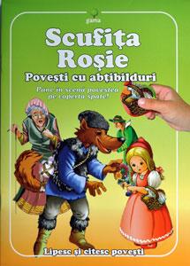 Scufita Rosie, poveste cu abtibilduri, Editura Gama