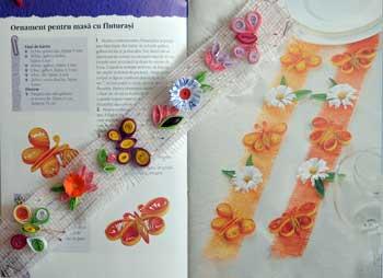 Idei creative: Quilling, tehnica spiralarii hartie, Editura Casa