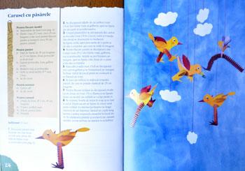 Idei creative. Figurine hazlii din hârtie