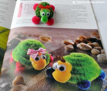 Idei creative, Editura Casa: Figurine din sarma plusata