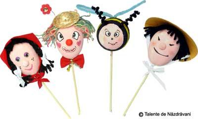 Idei creative: Papusi din oua, Editura Casa