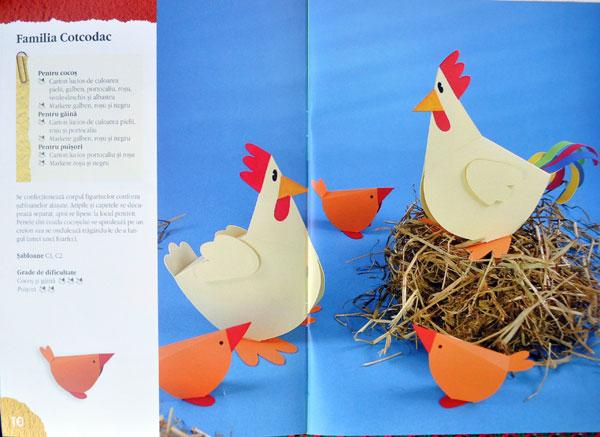 Idei Creative, 63, Animalute vesele din hartie, Editura Casa