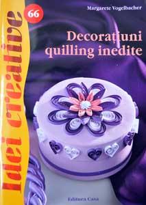 Idei Creative 66: Decoratiuni quilling inedite