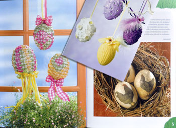Idei creative: oua de Pasti, Editura Casa