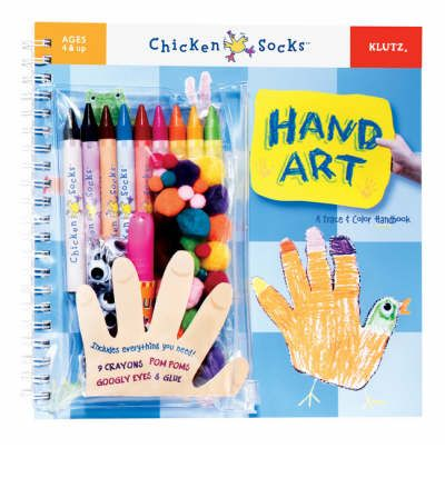 Hand Art: A Trace and Colour Handbook