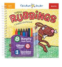 Crayon Rubbings: A Bumpity Colouring Book