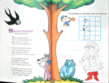 Literatura pentru copii, clasa I, II, Marcela Penes