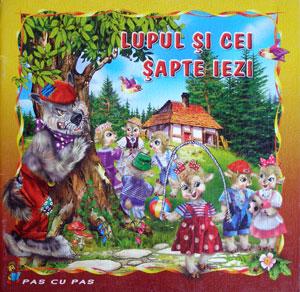 Lupul si cei sapte iezi, Editura Stefan