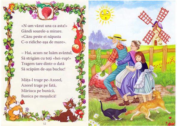 Ridichea uriasa, Editura Eduard. Autori: Loredana Stefan si Ecaterina Nicolescu. Ilustratii: Zgubi