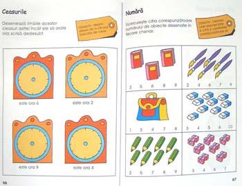 Activitati matematice pentru gradinita, ne pregatim pentru scoala, Editura Teora