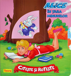 Alice in tara minunilor, Editura Teora