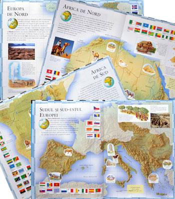 Atlas geografic pentru copii isteti