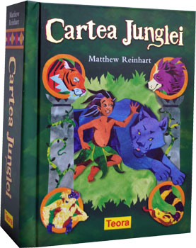 Cartea Junglei. Poveste pop-up. Editura Teora