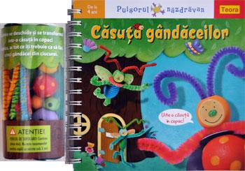Casuta gandaceilor, Editura Teora