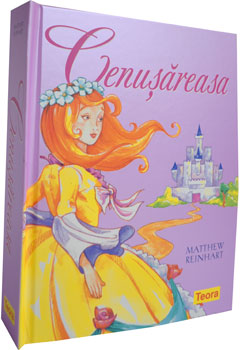 Cenusareasa. Poveste pop-up. Editura Teora