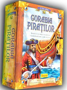 Corabia piratilor, carte 3D. Editura Teora