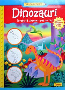 Cum sa desenez dinozauri, Editura Teora