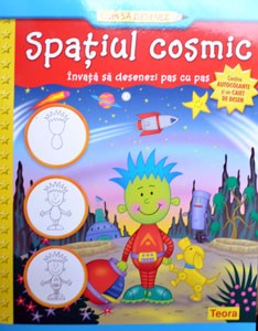 Cum sa desenez: Spatiul cosmic