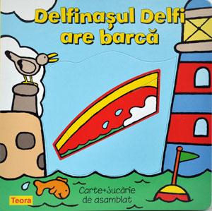 Delfinasul Delfi are barca, Editura Teora