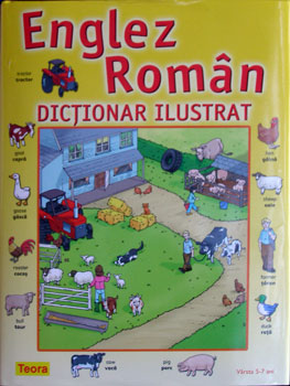 Englez Roman - Dictionar ilustrat, Editura Teora