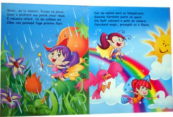 Lumea zanelor, Editura Teora. Carticica cu figurine