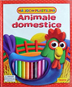 Ma joc cu plastilina: Animale domestice (Teora)