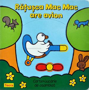 Ratusca Mac Mac are avion, Editura Teora