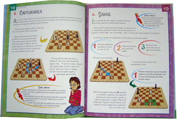 Sah pentru copii, Manual distractiv, Editura Teora