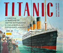 Titanic. Carte 3D, Editura Teora