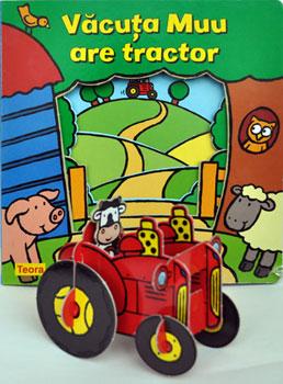 Vacuta Muu are tractor