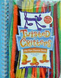 Twisted Critters: animale din sarma plusata, de la Klutz