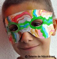 Masca din hartie pentru copii