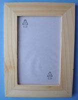 Idei pentru 8 martie: rama foto din lemn