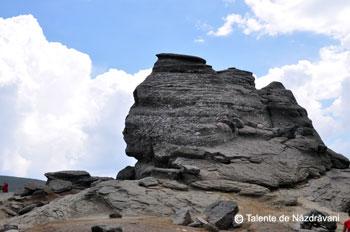 Sfinxul. Monument al Naturii in Bucegi