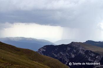 Ploaie pe valea Prahovei