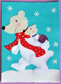 Felicitare cu ursuleti. Idei Creative. Editura Casa