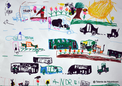 Desen cu carioca