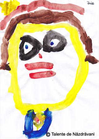 Iris, autoportret