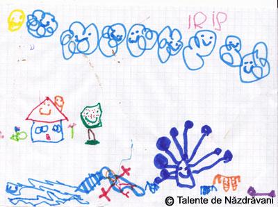 Desen pe patratele