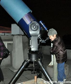 La Observatorul Astronomic Amiral Vasile Urseanu, Bucuresti